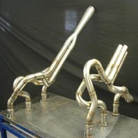 High Performance Continental 470 Exhaust